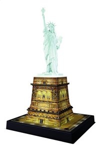 Ravensburger 3D-puzzel Statue of Liberty-Night Edition-Vooraanzicht