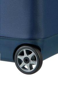 Samsonite zachte reistrolley Flux Soft Upright Navy Blue 55 cm-Onderkant