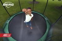 Berg trampoline enterré avec filet de sécurité Champion Inground Ø 2,70 m Green-Image 1