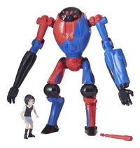 Spider-Man figuur Into The Spider-Verse Deluxe - SP//DR & Peni Parker-Artikeldetail