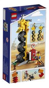 LEGO The LEGO Movie 2 70823 Emmets driewieler!-Achteraanzicht