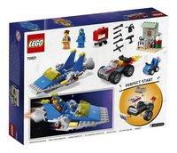 LEGO The LEGO Movie 2 70821 Emmets en Benny's bouw- en reparatiewerkplaats-Achteraanzicht