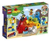 LEGO DUPLO The LEGO Movie 2 10895 Visite voor Emmet en Lucy van de DUPLO Planeet-Achteraanzicht