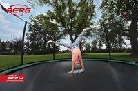 Berg trampoline enterré avec filet de sécurité Champion Inground Ø 2,70 m Green-Image 3