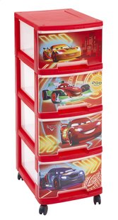 Curver ladekast met 4 laden Disney Cars