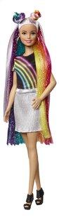 Barbie mannequinpop Regenboog glitterhaar-commercieel beeld