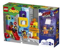 LEGO DUPLO The LEGO Movie 2 10895 Visite voor Emmet en Lucy van de DUPLO Planeet-Rechterzijde