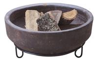 Vuurschaal Aztec bruin diameter 45 cm