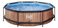 EXIT zwembad Wood Ø 3 m-Vooraanzicht