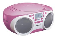 Lenco radio/lecteur CD SCD-200 rose clair-Côté gauche