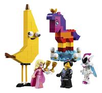 LEGO The LEGO Movie 2 70824 Maak kennis met koningin Wiedanook Watdanook-Vooraanzicht