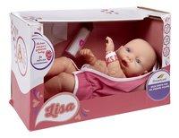 DreamLand pop Pasgeboren baby Lisa-Linkerzijde