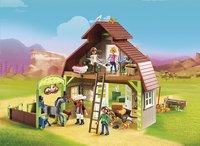 PLAYMOBIL Spirit 70118 Grange avec Lucky, Apo et Abigaëlle-Image 1