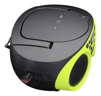 Lenco radio/lecteur CD SCD-200 lime-Vue du haut