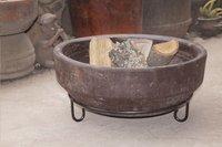 Vuurschaal Aztec bruin Ø 45 cm-Afbeelding 4