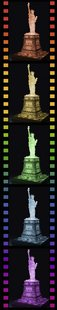 Ravensburger 3D-puzzel Statue of Liberty-Night Edition-Afbeelding 1