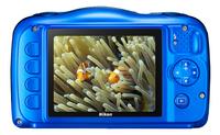 Nikon appareil photo numérique Coolpix W100 bleu-Arrière