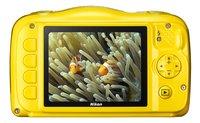 Nikon digitaal fototoestel Coolpix W100 geel-Achteraanzicht