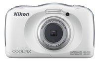 Nikon appareil photo numérique Coolpix W100 blanc-Avant