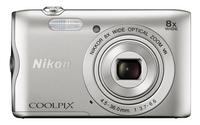 Nikon digitaal fototoestel Coolpix A300 zilver