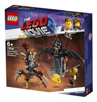 LEGO The LEGO Movie 2 70836 Gevechtsklare Batman en Metaalbaard-Rechterzijde