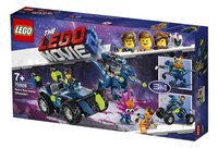LEGO The LEGO Movie 2 70826 Rex's Rex-treme offroader-Rechterzijde