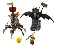 LEGO The LEGO Movie 2 70836 Gevechtsklare Batman en Metaalbaard-Vooraanzicht