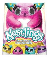 Peluche interactive Nestlings rose-Avant