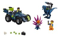 LEGO The LEGO Movie 2 70826 Rex's Rex-treme offroader-Vooraanzicht