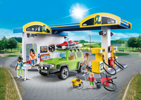 PLAYMOBIL City Life 70201 Station service-Image 1
