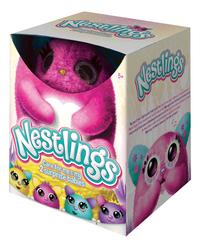 Peluche interactive Nestlings rose-Côté droit