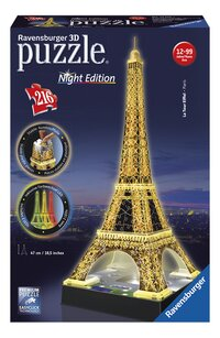 Ravensburger 3D-puzzel Night Edition Eiffeltoren