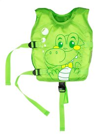 Zwemvest voor kind Kroko groen-Vooraanzicht