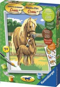 Ravensburger Peinture au numéro : Amour de chevaux
