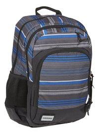 Kangourou sac à dos Stripes Blue-Côté gauche