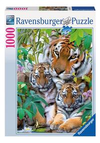 Ravensburger puzzle La famille tigre