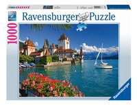 Ravensburger puzzel Aan het meer van Thun, Bern