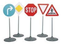5 verkeersborden