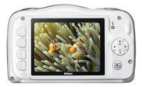 Nikon appareil photo numérique Coolpix W100 blanc-Arrière