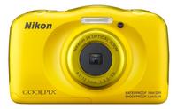 Nikon digitaal fototoestel Coolpix W100 geel