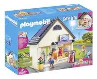 PLAYMOBIL City Life 70017 Boutique de mode-Côté gauche
