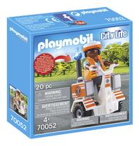 PLAYMOBIL City Life 70052 Secouriste et gyropode-Côté gauche