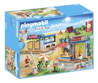 PLAYMOBIL Family Fun 70087 Grand camping-Côté gauche