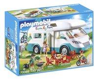 PLAYMOBIL Family Fun 70088 Caravane et vacanciers-Côté gauche