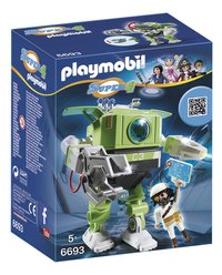 Playmobil Super 4 6693 Robot Cleano-Avant