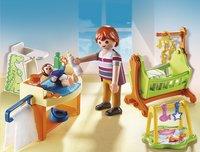 Playmobil Dollhouse Slaapkamer : Playmobil dollhouse babykamer met wieg dreamland