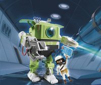 PLAYMOBIL Super 4 6693 Robot Cleano-Image 1