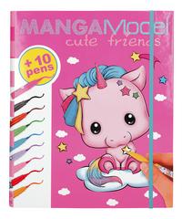 TOPModel Manga Model creatiemap Cute Friends-Vooraanzicht