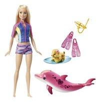 Barbie set de jeu Dauphin magique Barbie et son dauphin