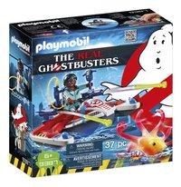 PLAYMOBIL Ghostbusters 9387 Zeddemore avec scooter des mers-Côté gauche